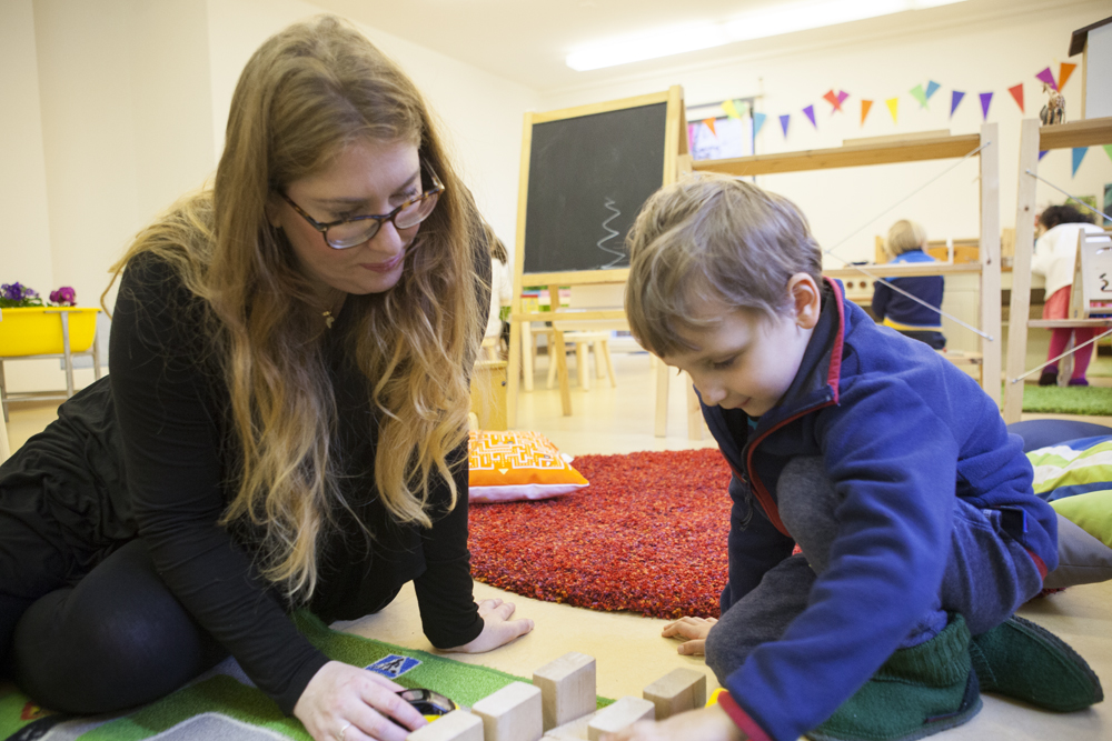 Presence Play Parent and Child Sessions - Children First Daycare and ...